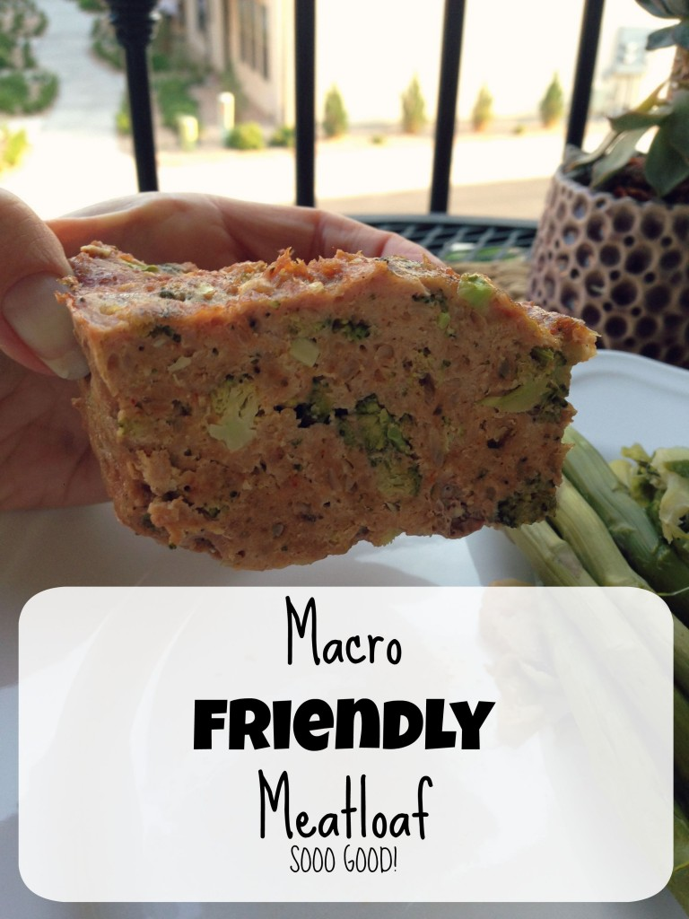 Macro friendly Meatloaf